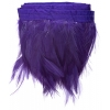 Coque Hackle 4-6in Value Strung 1Yd Purple
